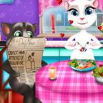 Игра Ужин Тома и Анжелы