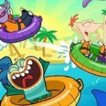 Игра Финес и Ферб: Прыжок к Акулам