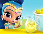 Игра Шиммер и Шайн: Палатка с Лимонадом