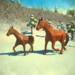 Игра Симулятор Семьи Лошади Зимой
