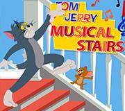Игра Том и Джерри: Музыкальные Ступеньки