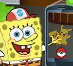 Игра Губка Боб: Покемон гоу