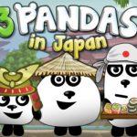 Три Панды в Японии HTML5