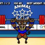 Игра Бык Чемпион  — тяжелая атлетика
