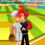 Игра Поцелуи на бейсбольном поле