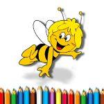 Игра Раскраска Пчелы