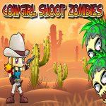 Игры Девушка ковбой: Стрельба по зомби