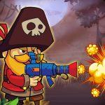 Игра Пираты против зомби