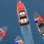 Игра Полицейская погоня за лодкой