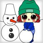 Игра Куколки принцессы: Зимние забавы