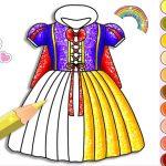 Игра Принцессы: Блестящая краска
