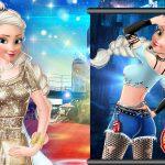 Игра Принцесса Эльза Голливудская звезда