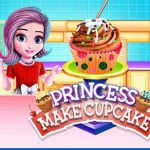 Игра Принцесса готовит торт / Princess Make Cup Cake