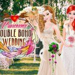 Игра Принцессы: двойная свадьба в стиле бохо
