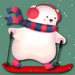 Игра Лыжное Рождество