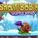 Игра Улитка Боб 6: Зимнее Приключение