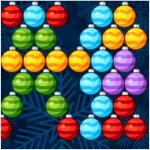 Игра Рождественский пузырьковый шутер