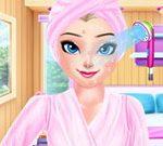 Игра Принцесса Эльза — праздничный Спа Релакс