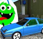 Игра Монстры против автомобиля